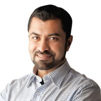Photo of Haroon K. Ullah, Chief Strategy Officer