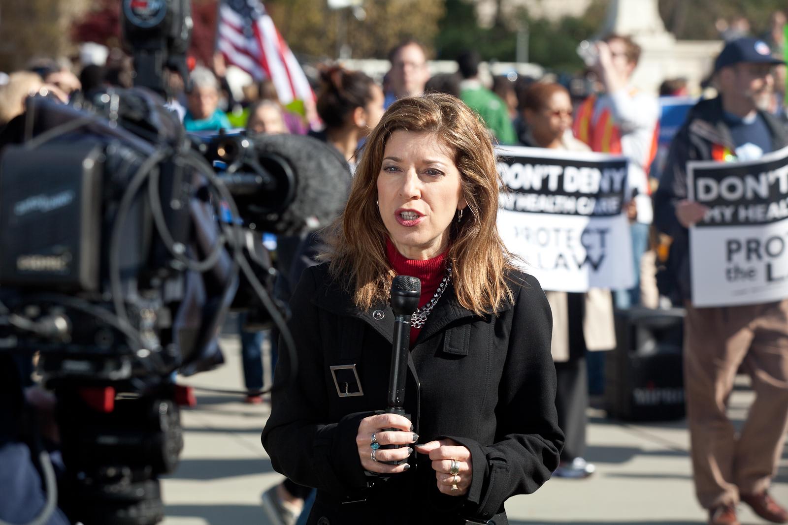 VOA Covers Supreme Court Health Care Protests
