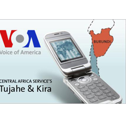 VOA Launches Health, Business Shows in Burundi