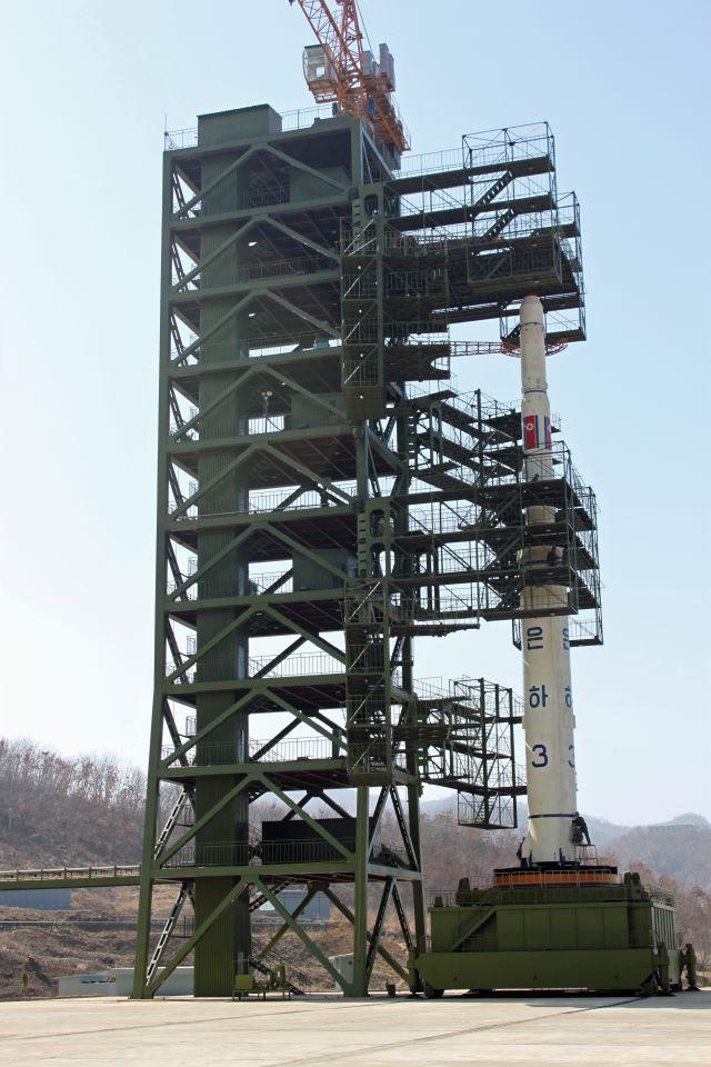 Photo: A North Korean Rocket