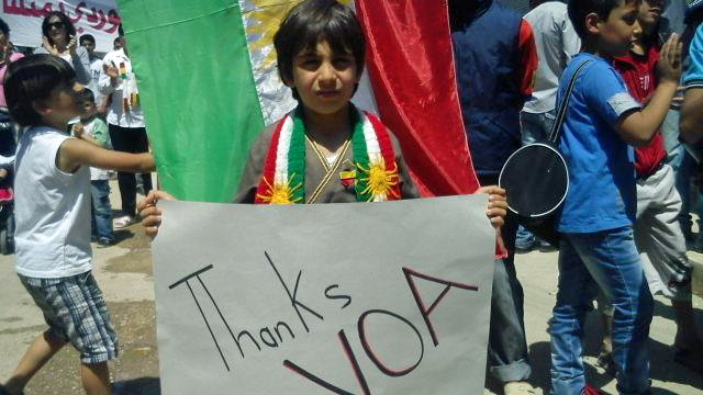 A Child in Syria Says Thanks VOA