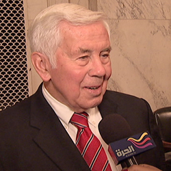 Sen. Lugar Talks about Syria and Egypt in an Interview on Alhurra