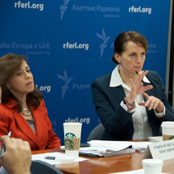 Meeting at RFE/RL, BBG Moves to Leverage New Openness in Burma, Control Travel Costs, Honor Former Gov. Wimbush
