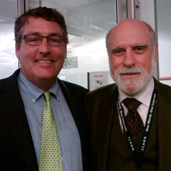 BBG Officials Meet With Internet Pioneer Vint Cerf