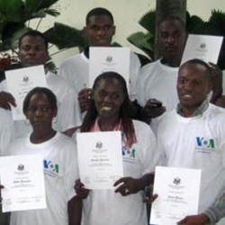 VOA Social Media Project in Haiti