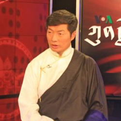Prime Minister of Tibet Exile Government Appears on VOA