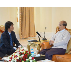 Burmese President Grants First Interview to VOA