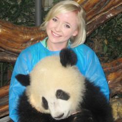 OMG! Host Jessica Beinecke Meets Panda
