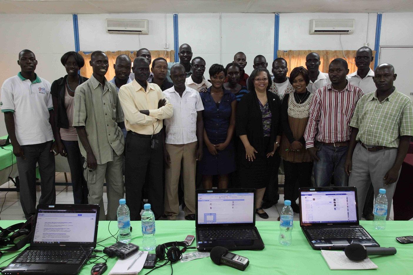 VOA training report – Juba, South Sudan, June 11 – 15, 2012