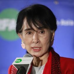 Aung San Suu Kyi Visits the BBG
