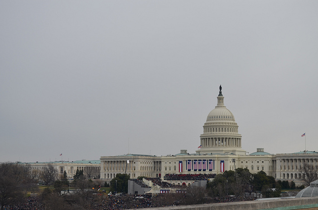 BBG Journalists Cover Obama's Second Inauguration