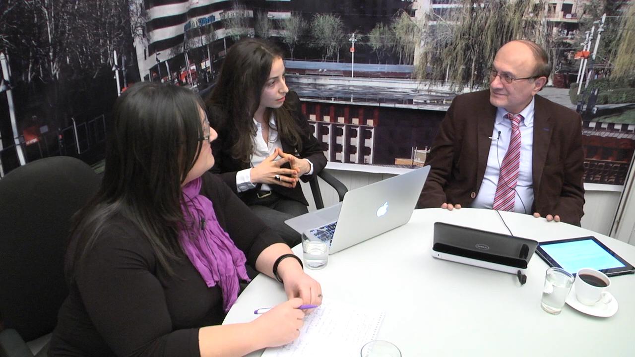 RFE/RL Mixes It Up with Live Blogs, Google+ Hangout