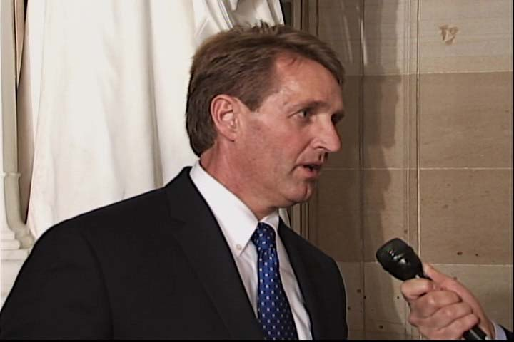 Sen. Flake Discusses State of the Union Address on Alhurra