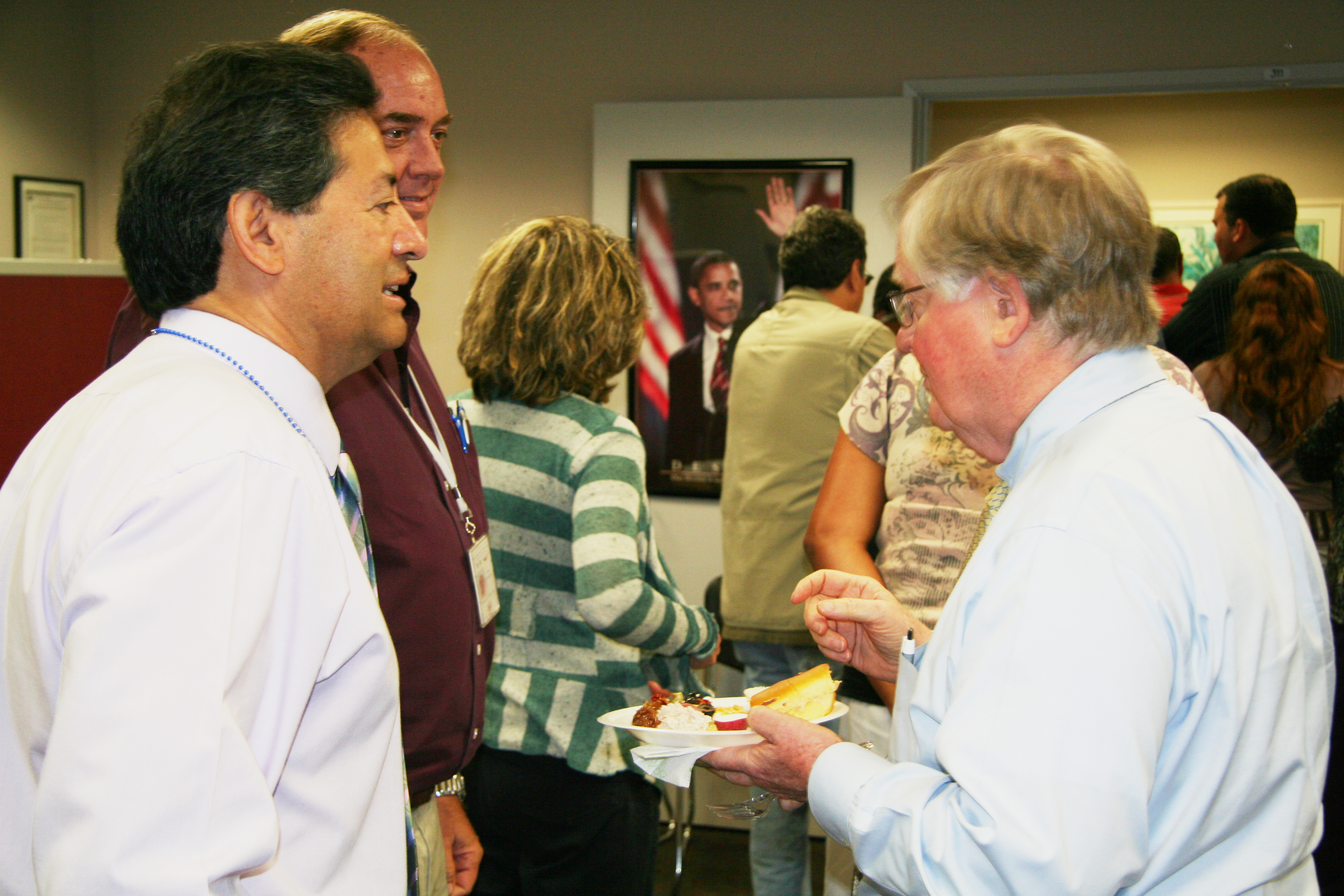 Governor Ashe Commends Martí Staff