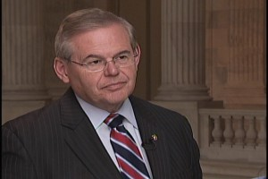 Sen. Menendez Speaks to Alhurra TV About His Proposed Legislation to Arm Syrian Rebels