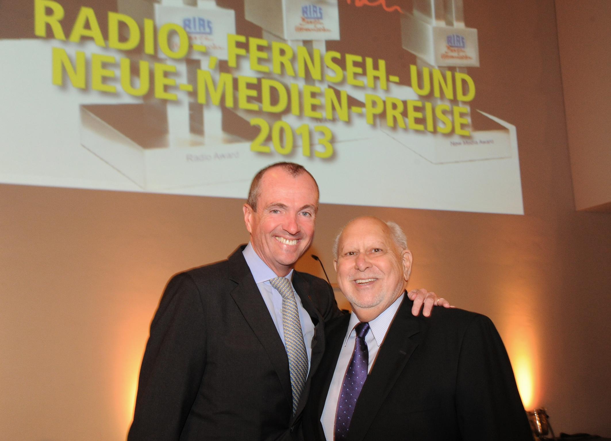 IBB Director Richard Lobo Congratulates RIAS Award Winners in Berlin