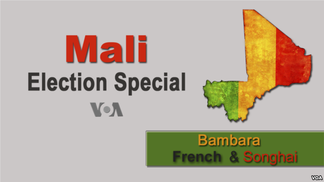 VOA Covers Elections in Mali