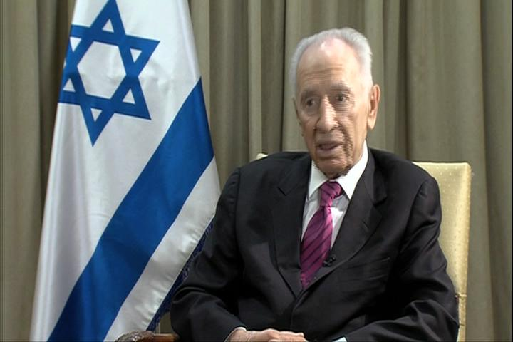 Alhurra Interviews Israeli President Shimon Peres