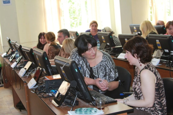 BBG provides critical health reporting training in Tblisi, Georgia