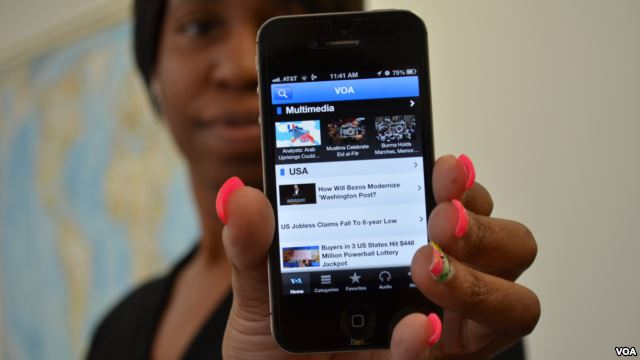 VOA Rolls Out Mobile App with News in 43 Languages
