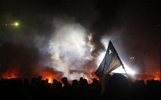 Ukraine Protests Claim First Fatalities: RFE/RL Liveblogs Euromaidan
