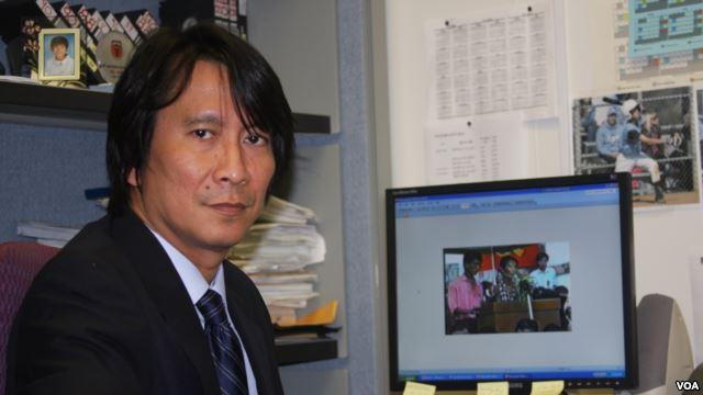 VOA Burmese Chief Participates in USIP Myanmar Report