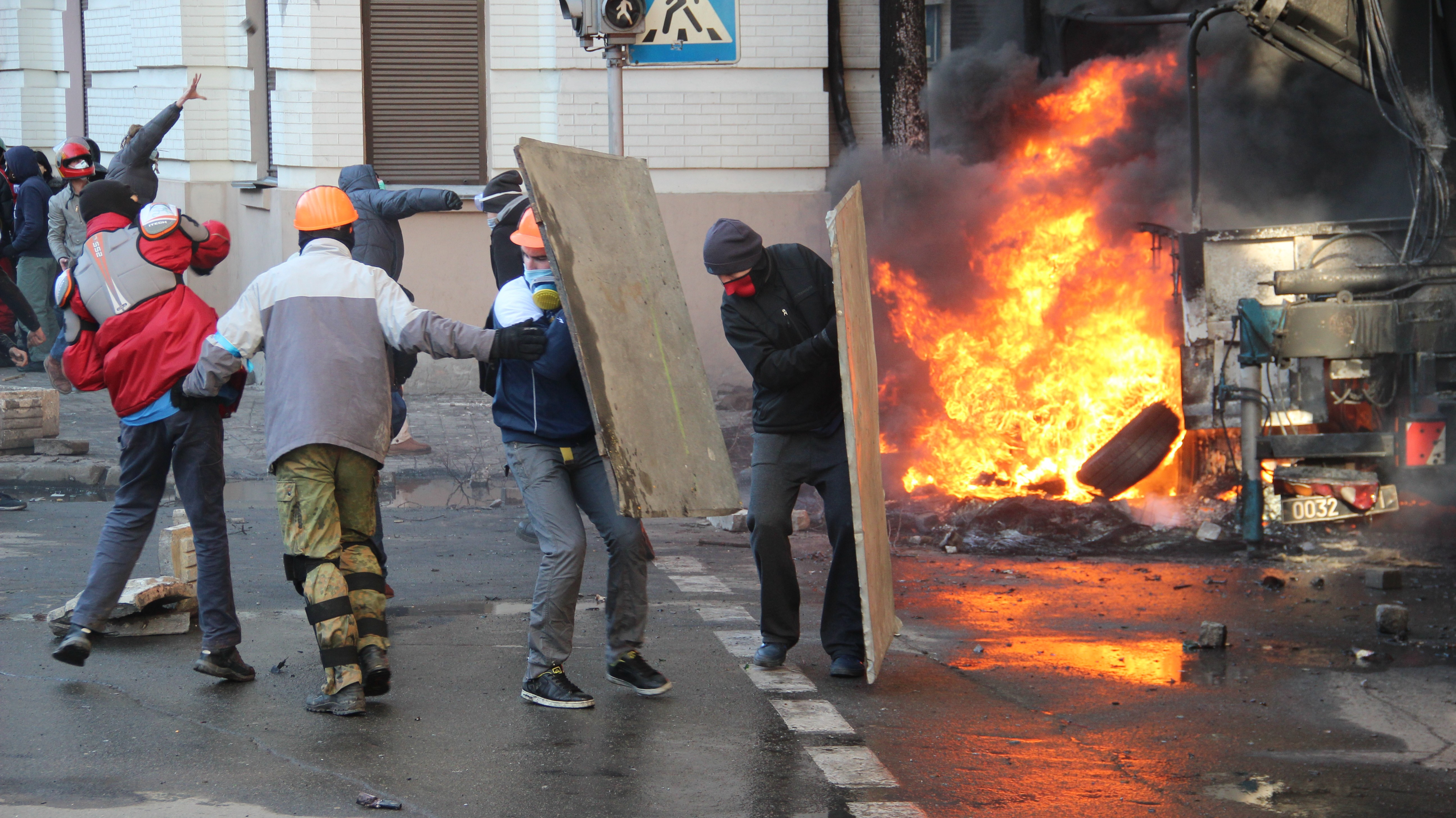 RFE/RL and VOA provide unstinting and unique reporting on violence in Ukraine