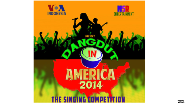 VOA Co-Produces Dangdut Singing Competition for National Television in Indonesia