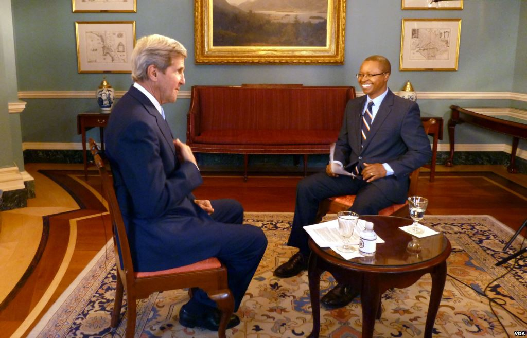 Kerry warns U.S. is close to imposing sanctions in effort to end fighting in South Sudan