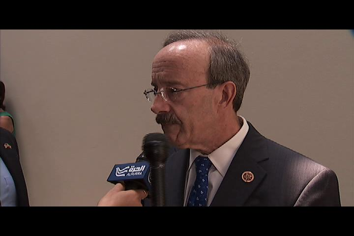 Members of Congress Talk to Alhurra About Iran, Syria and Hamas