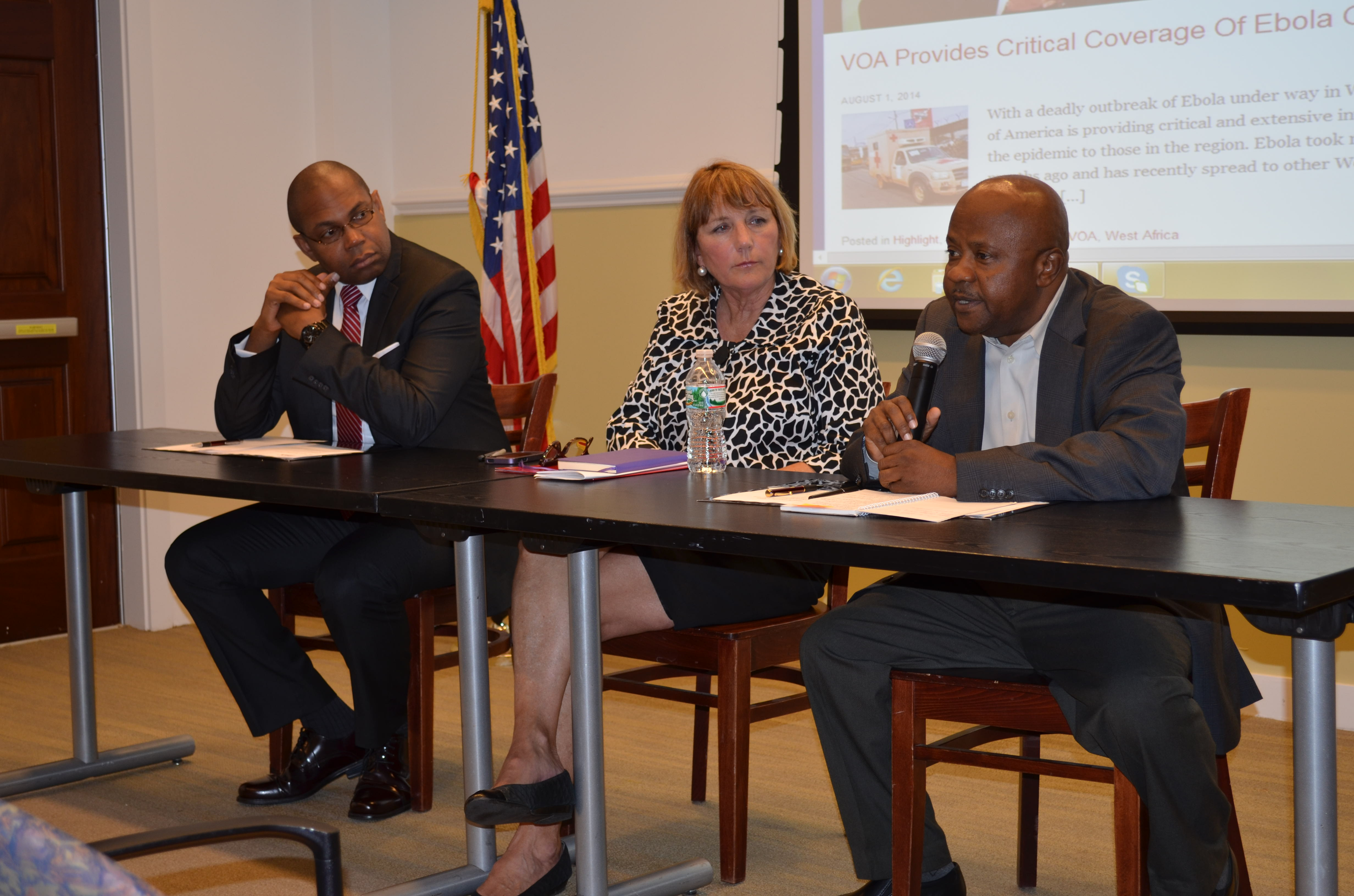Panel Discusses Broadcasting in Africa