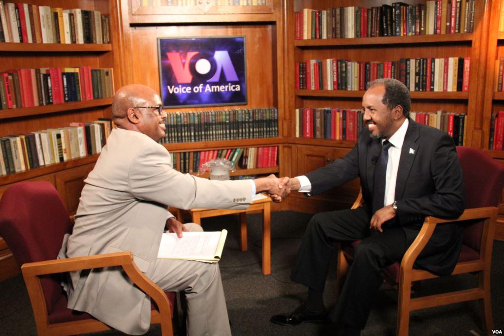 President of Somalia Tells VOA Somalis Support His Government, not al-Shabab