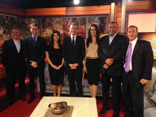 Under Secretary Stengel Visits MBN Studios in Dubai