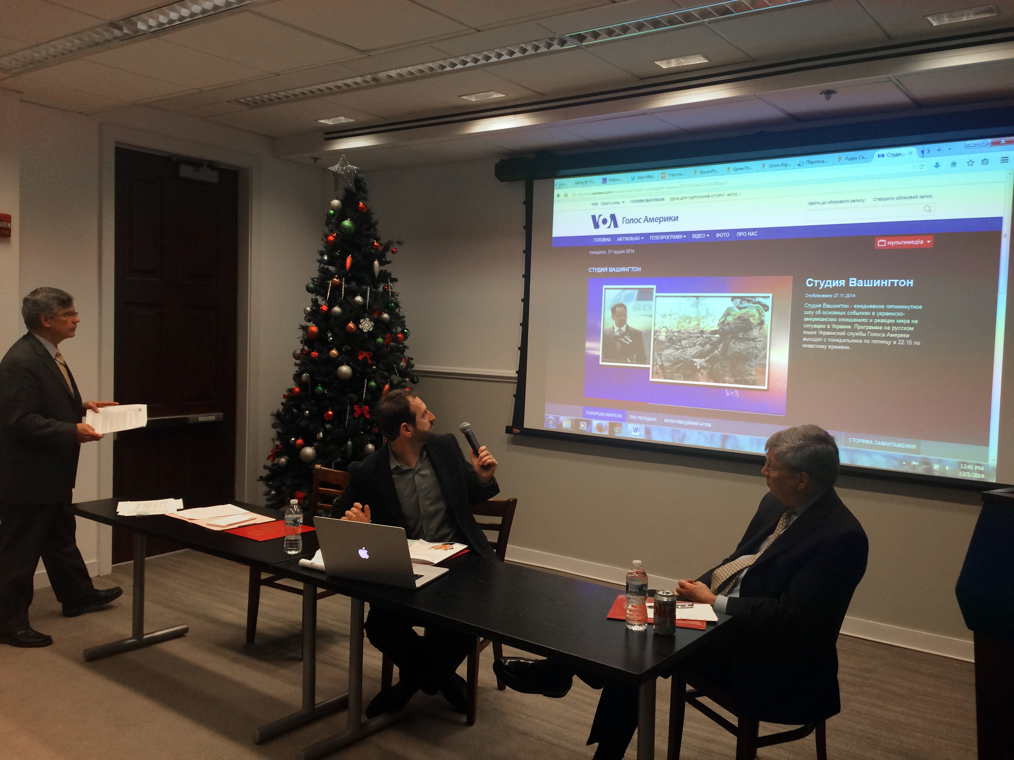 U.S. International Media to Russia Discussed in PDC/USC Forum