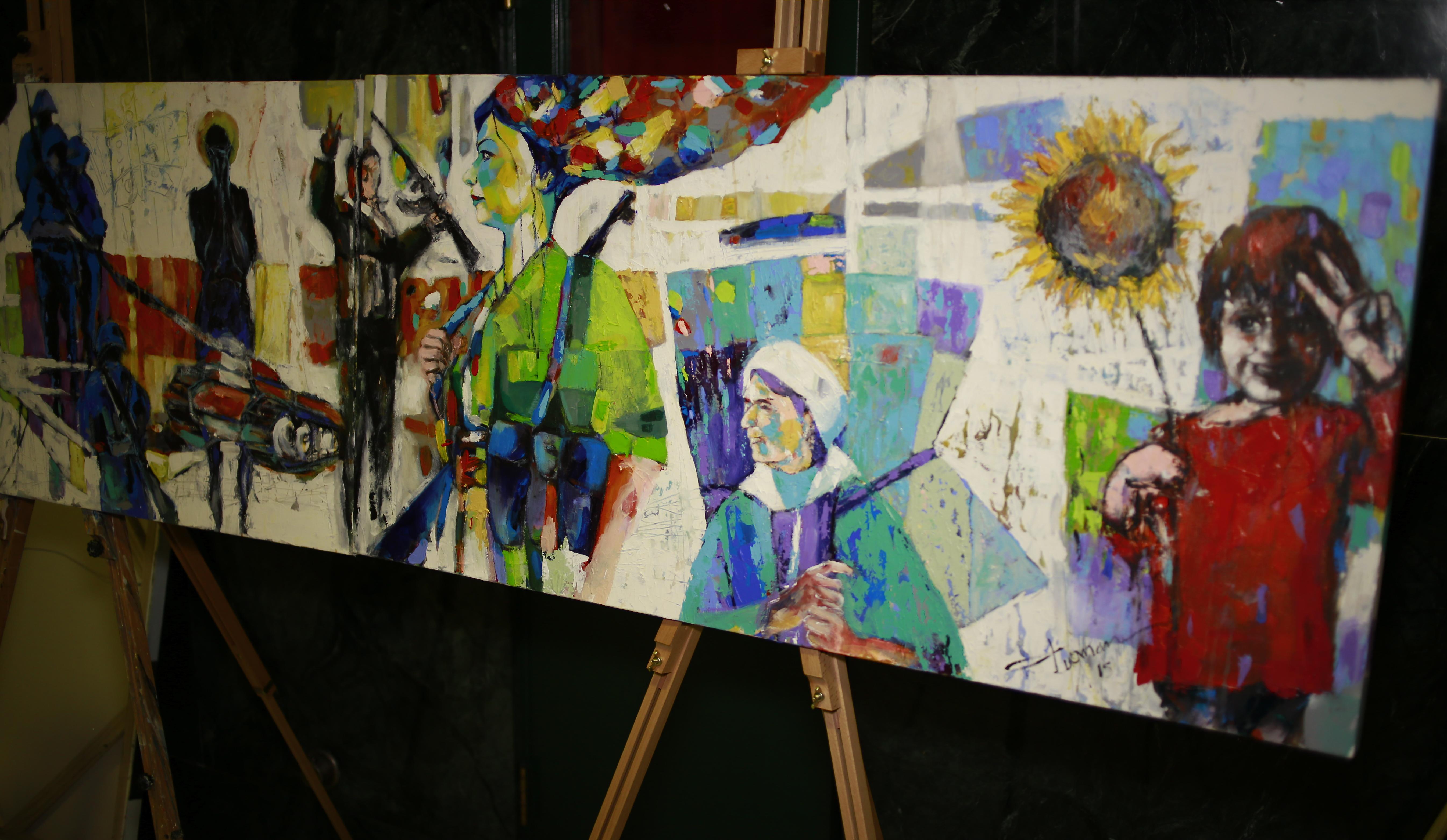 VOA journalist tells story of Kurdish Syrians through art
