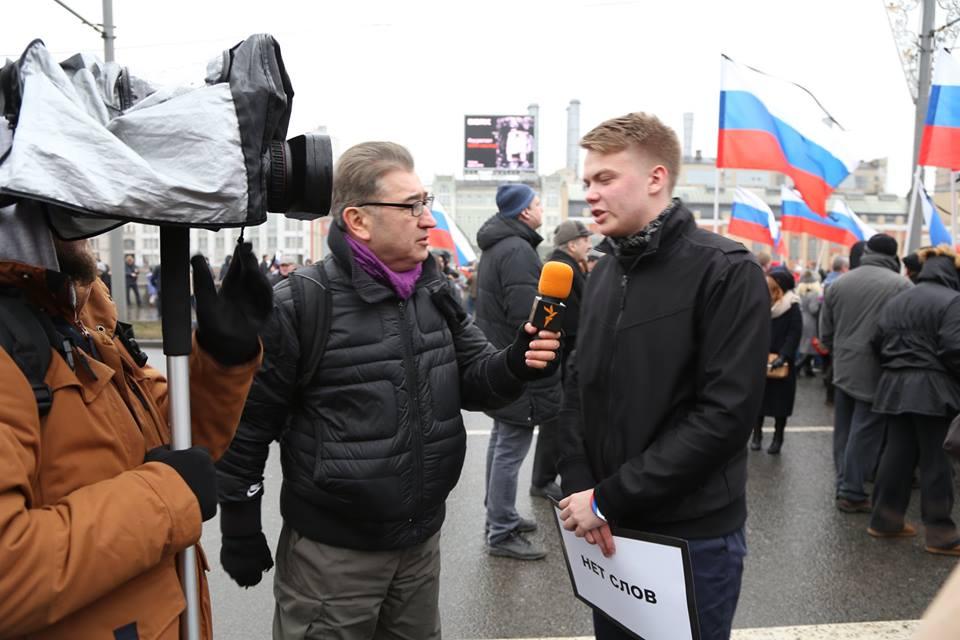 RFE/RL and VOA report on the murder of Boris Nemtsov