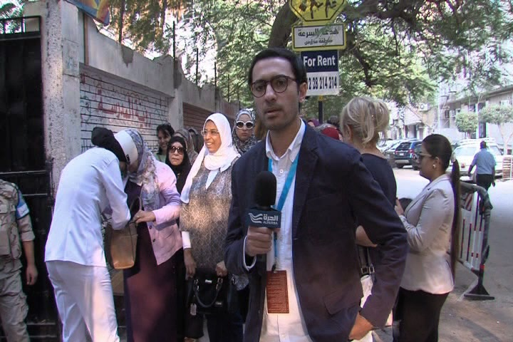 MBN covers the first round voting in Egyptian elections