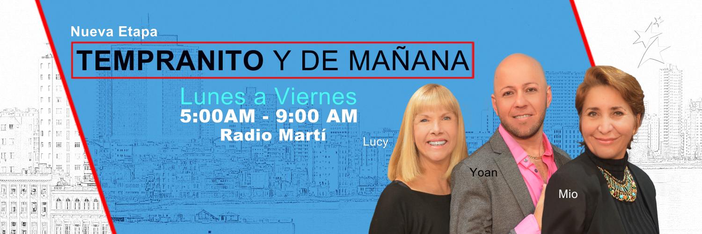 Radio Martí's morning show gets a revamp