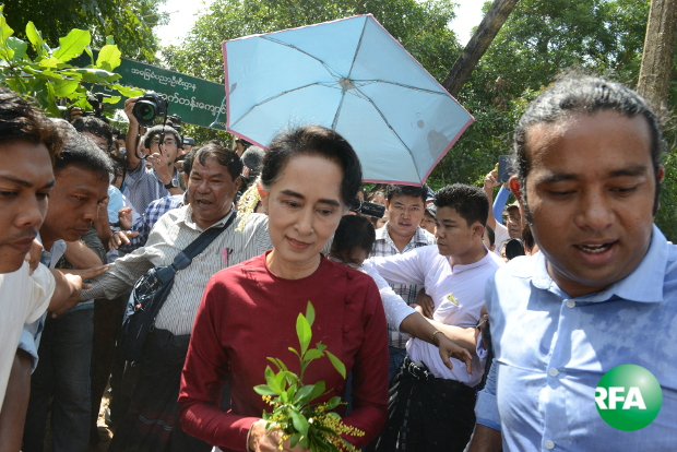 RFA provides extensive coverage of Burma elections
