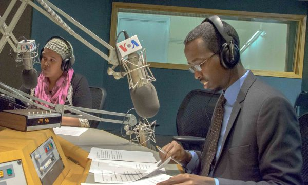VOA Somali Youth Radio Program Launch