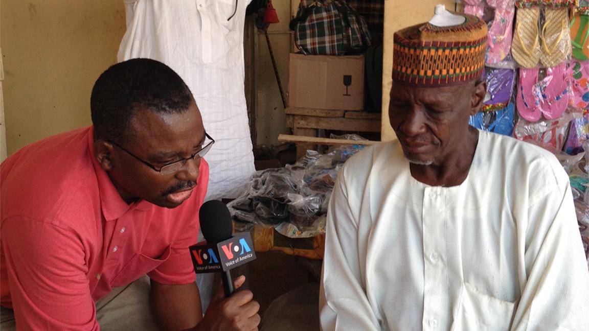 VOA Hausa Service journalist receives Burke Award