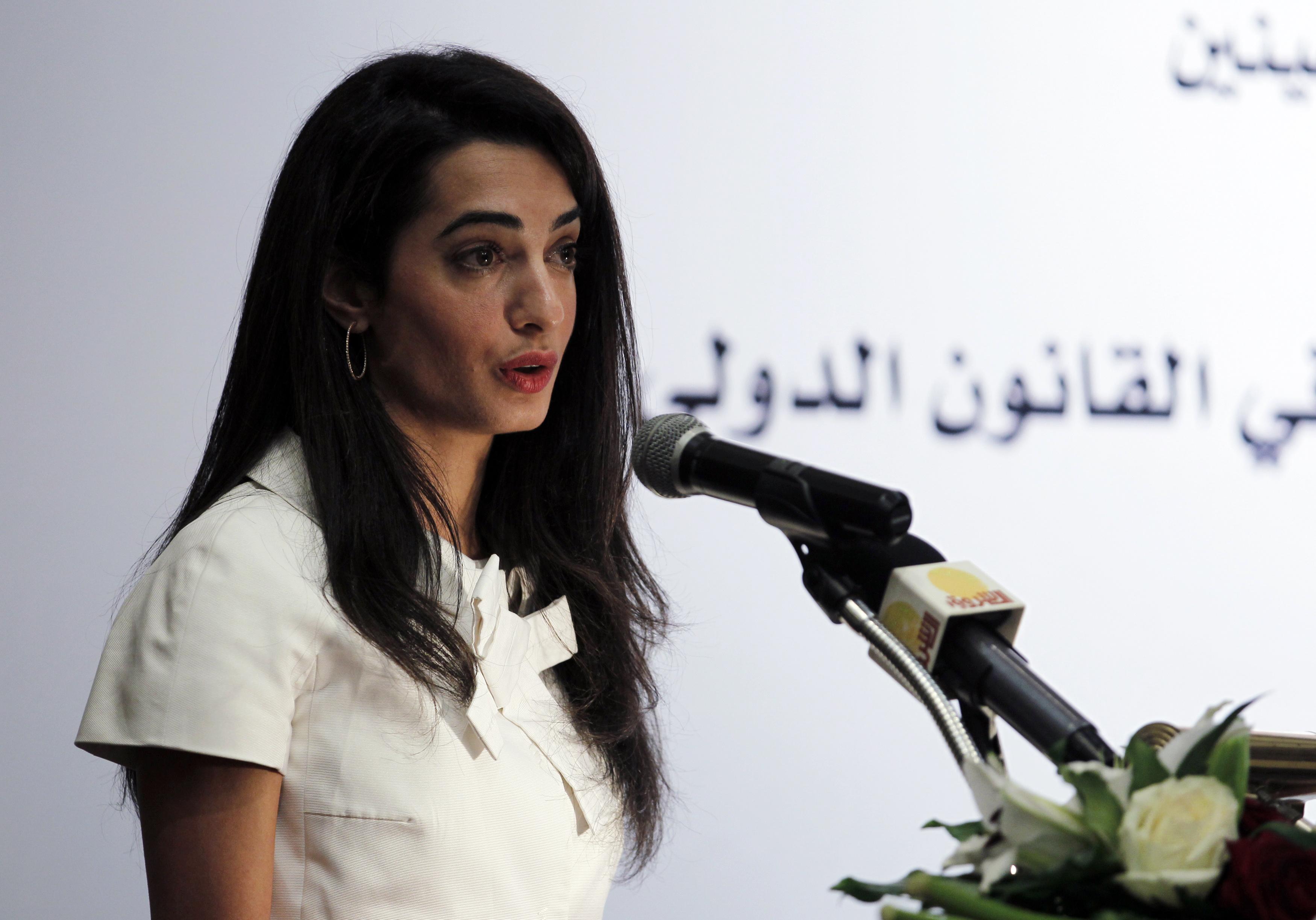 Ismayilova confirms Clooney as defense counsel