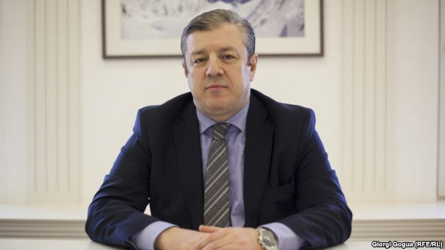 """We Are Europe,"" new Georgian prime minister tells RFE/RL"