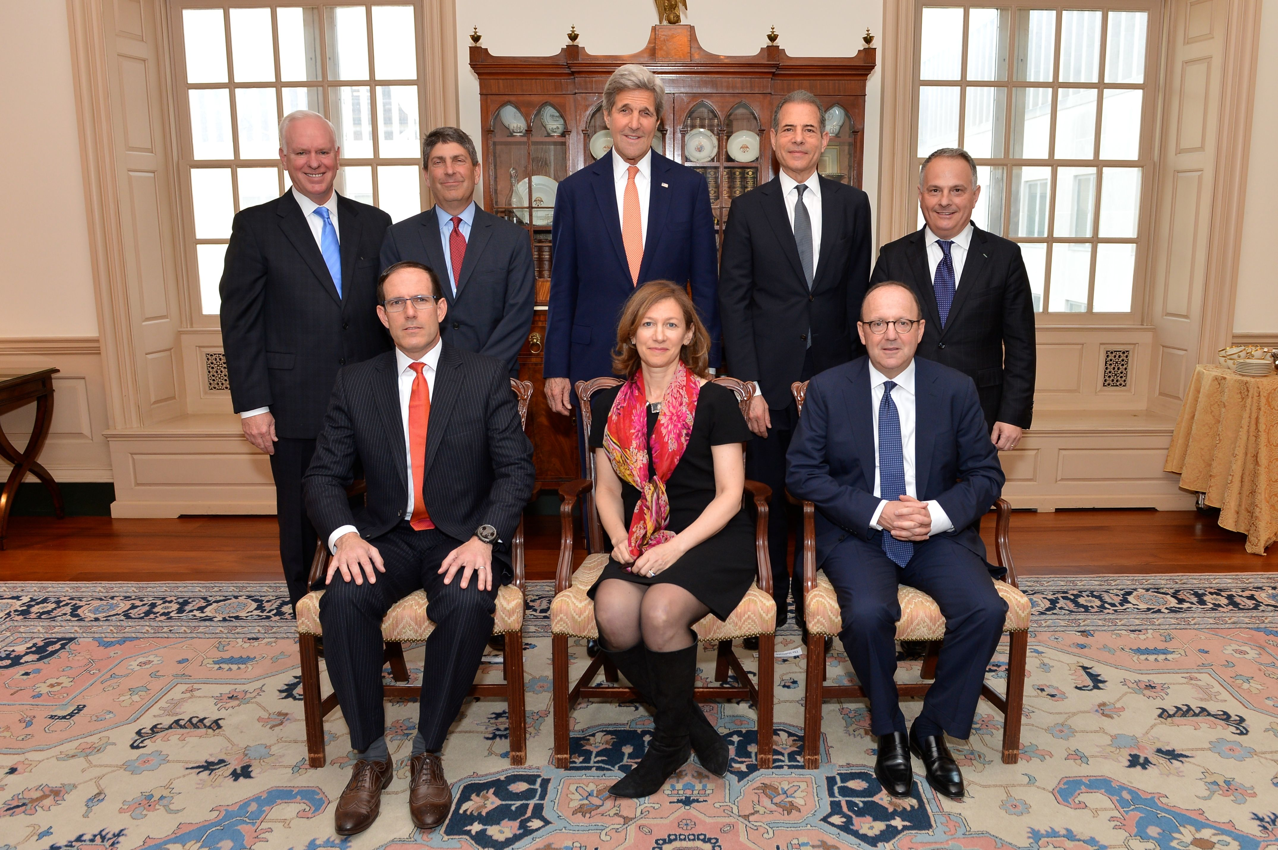 BBG meets with Secretary Kerry, shares key priorities of the Board