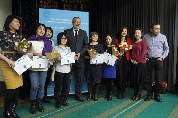 RFE/RL Kyrgyz Service journalist recognized for investigative works