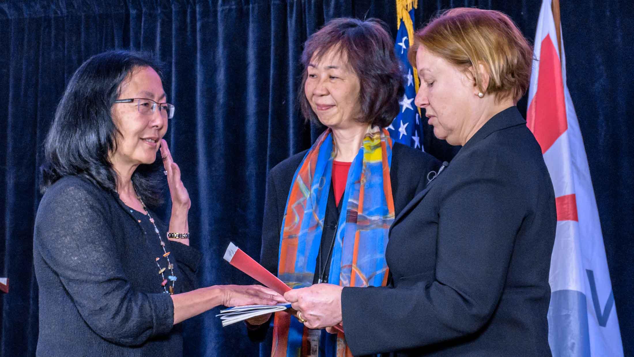 Sandy Sugawara sworn in as Voice of America Deputy Director