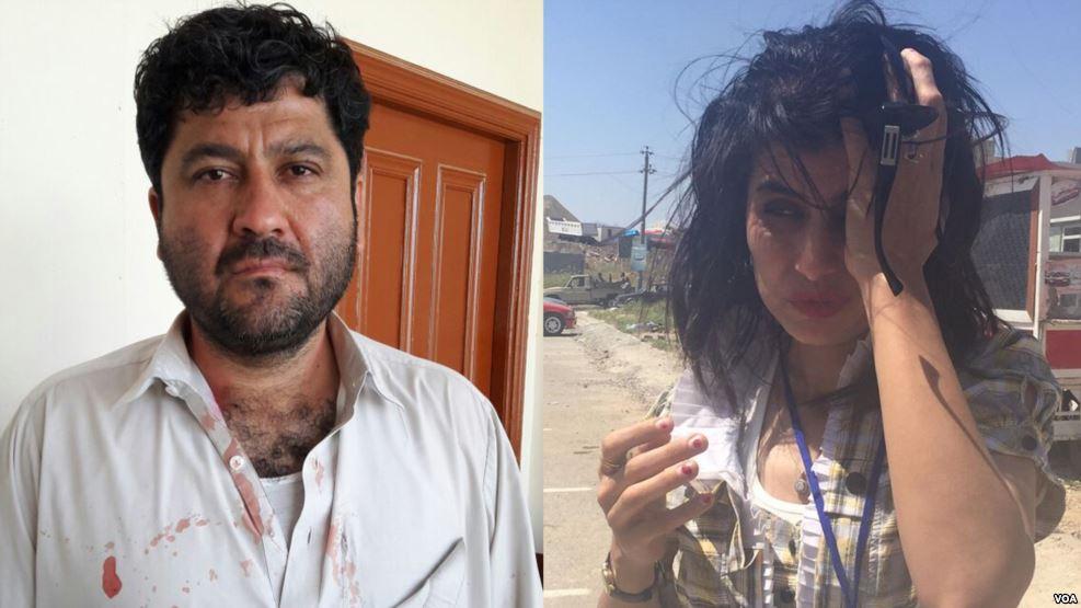 Voice of America journalists beaten in Pakistan and Iraq