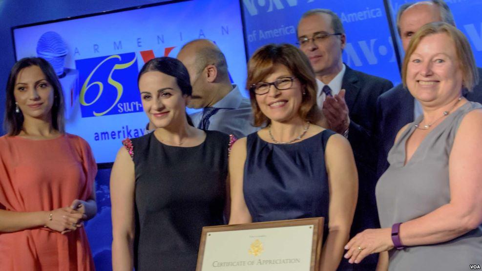 VOA Armenian marks 65 years on the air