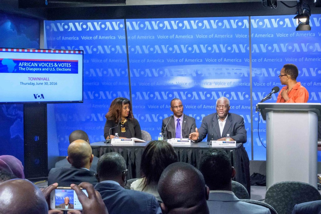 Africans in U.S. politics: a Voice Of America townhall