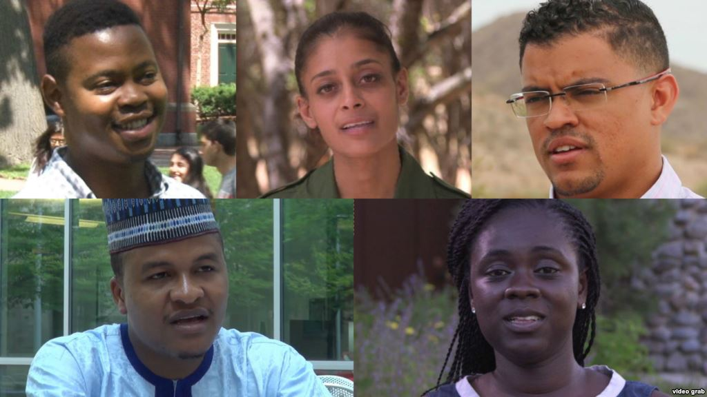 VOA showcases career diversity of fellows at the Young African Leadership Initiative Summit